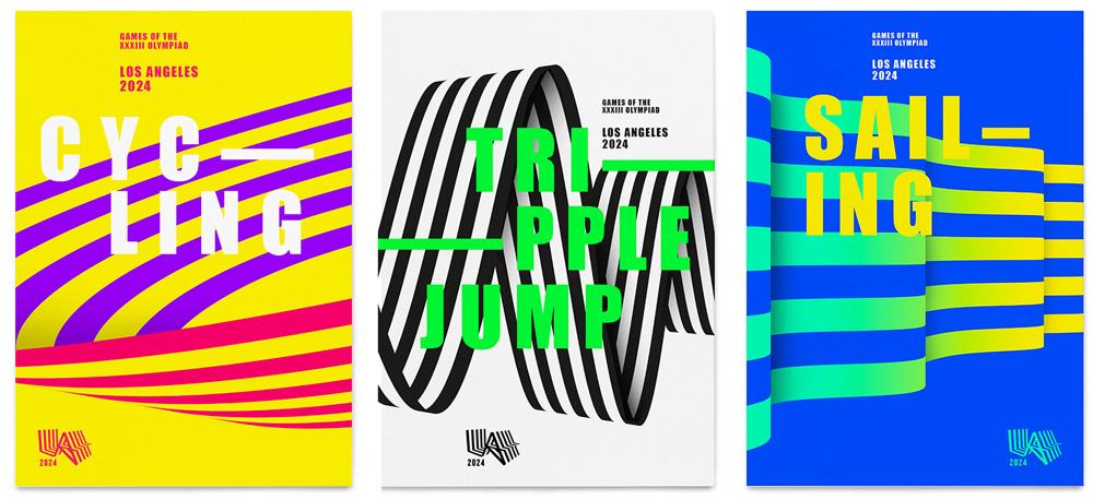 Los Angeles - Olimpíadas 2024 - identidade visual