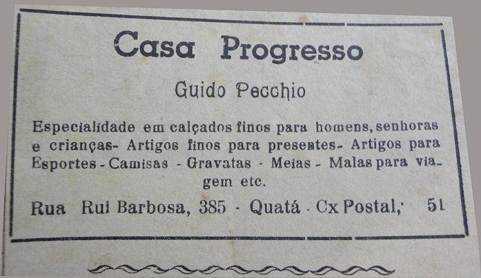 Casa Progresso 1955