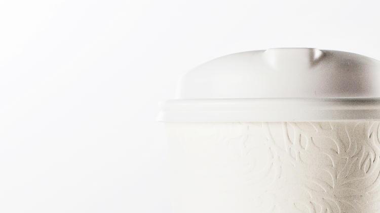 Starbucks, chá e um novo copo.
